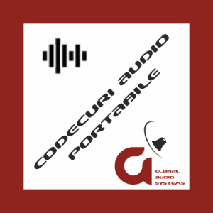 Codecuri audio portabile